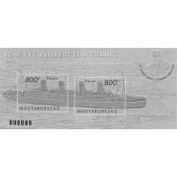 2012 The Titanic Sunk 100 Years Ago – Black Print
