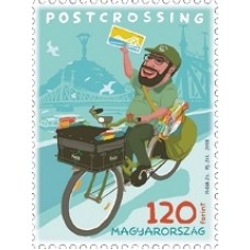 2019 Postcrossing stamp