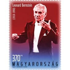 2018 Leonard Bernstein was born 100 years ago - Stamps
